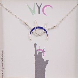 NYC necklace in box
