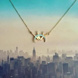 NYC on skyline