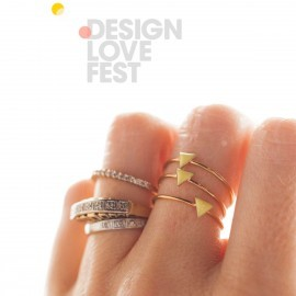 mini triangle ring DLF
