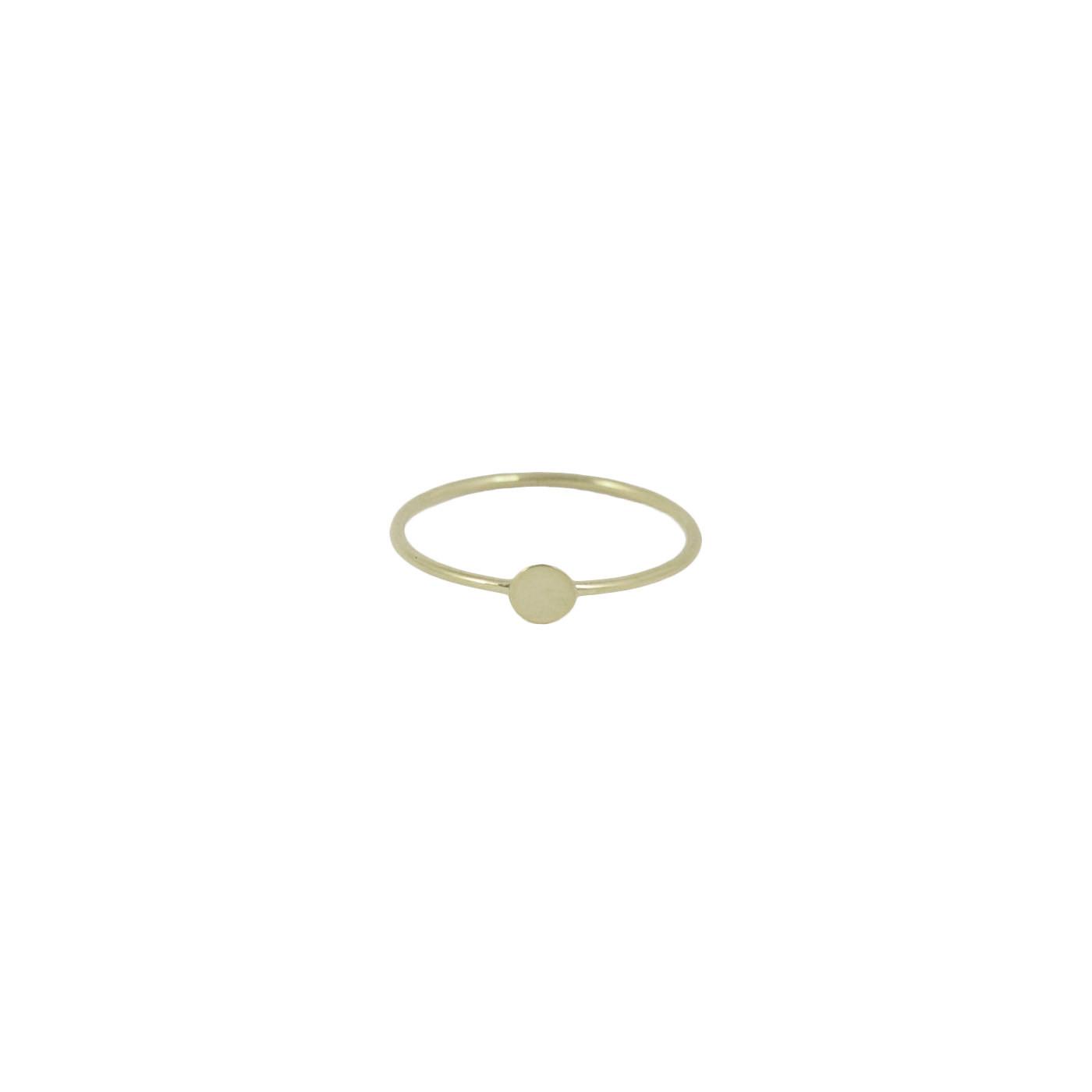 plain sterling silver confetti ring
