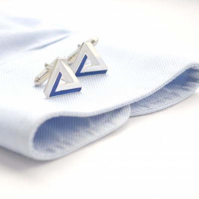 3d illusion cufflinks
