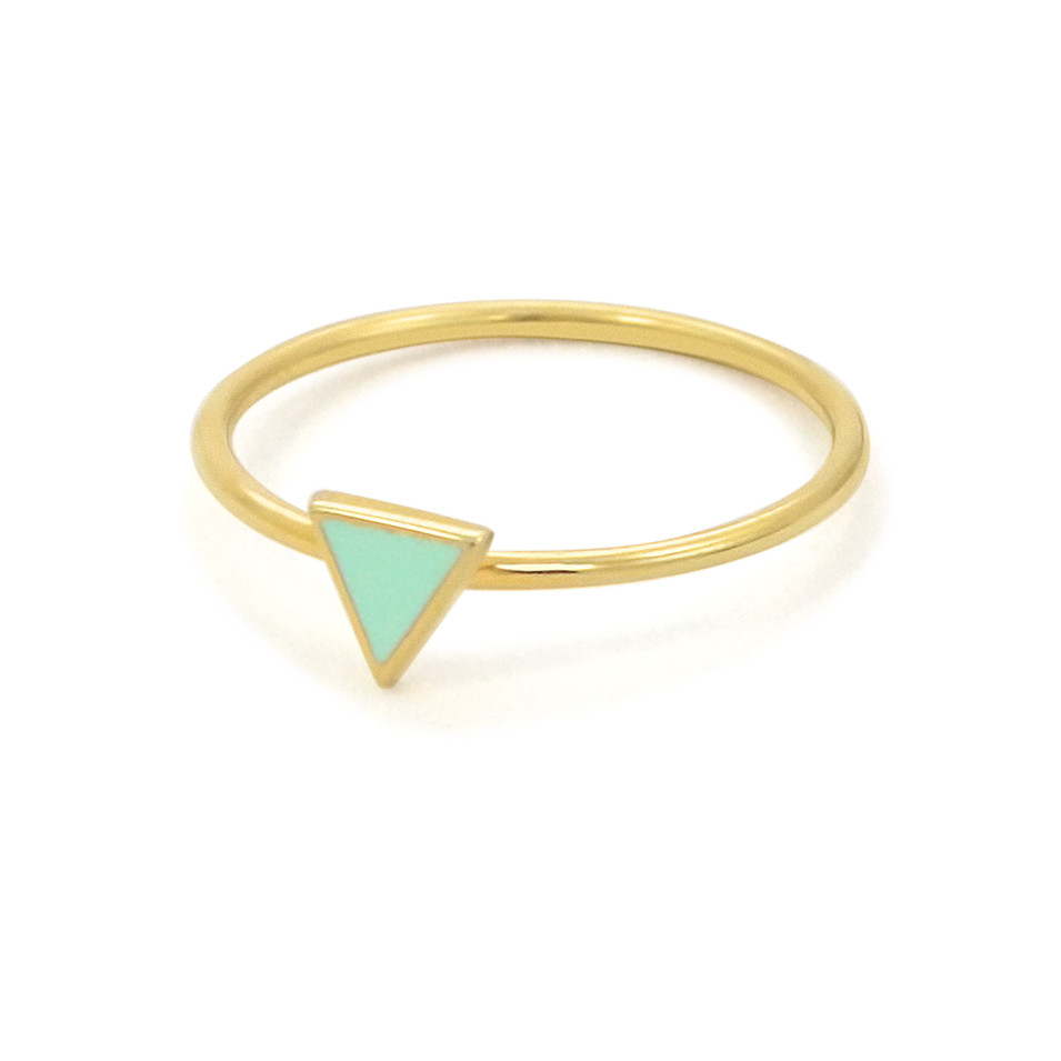 stacked triangle rings