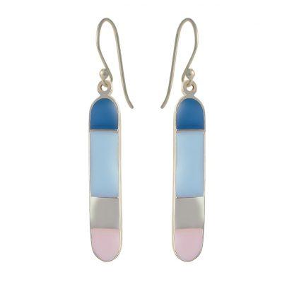 Santorini Bliss silver earrings