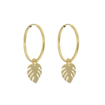 monstera-hoops-gold