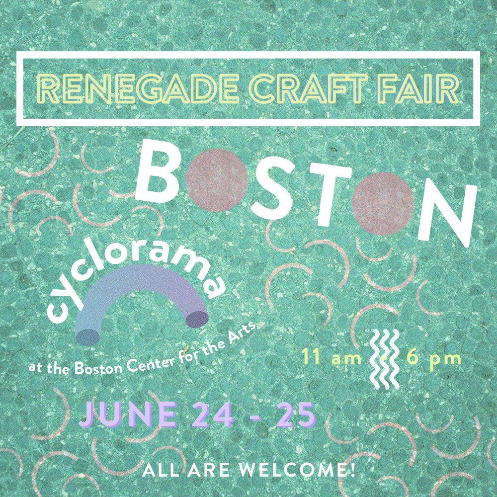 Renegade craft fair at Boston Cyclorama