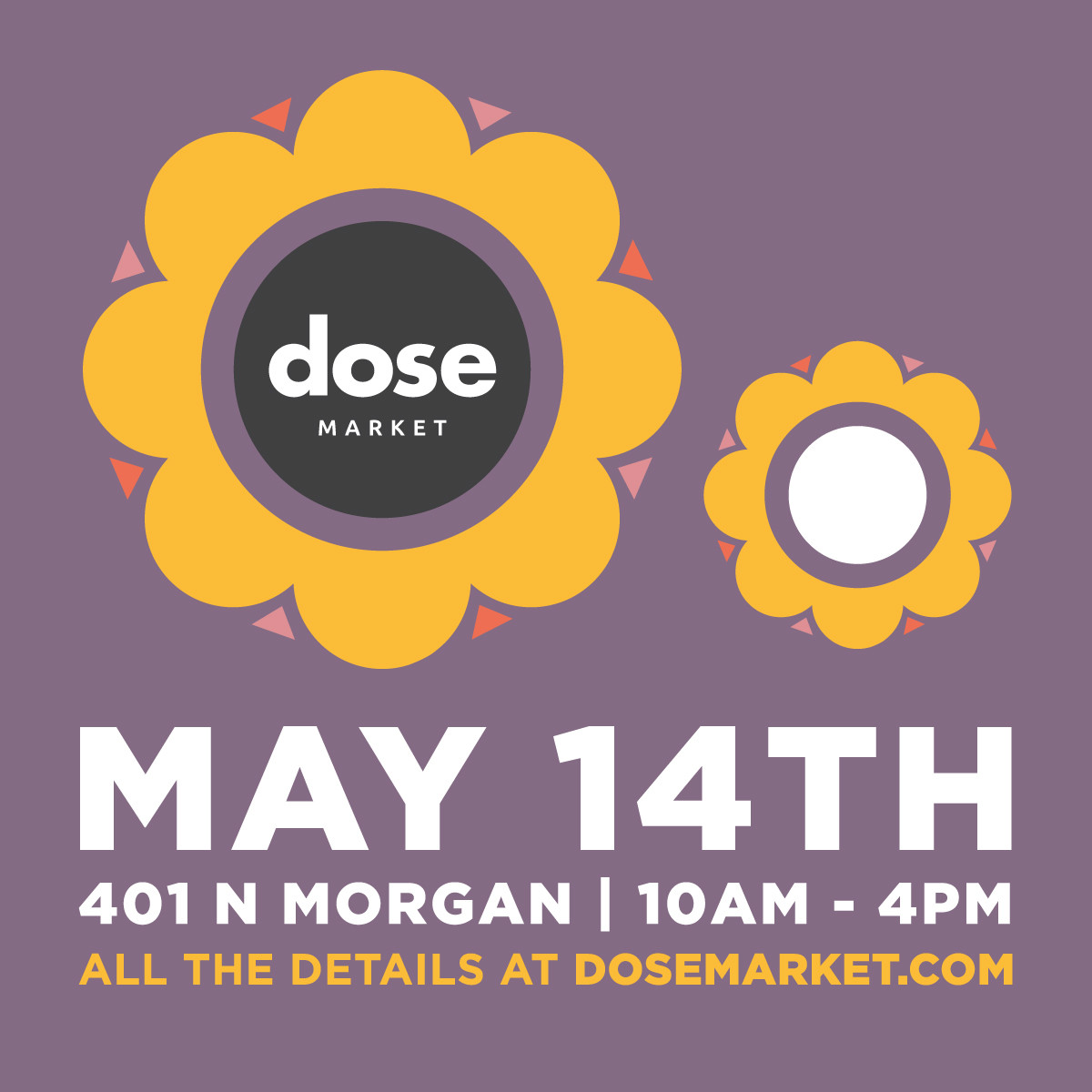 Dose Market Chicago May 14th