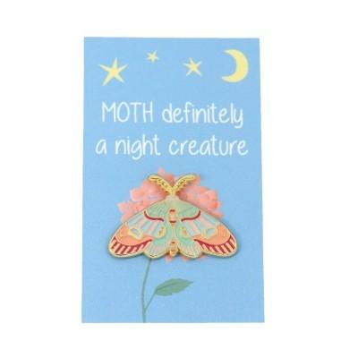 moth pin card