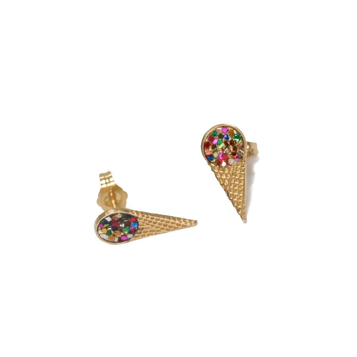 Glaces D'oreilles Boucles Boucles D'oreilles Multicolores Glaces Multicolores hdrsCtQ