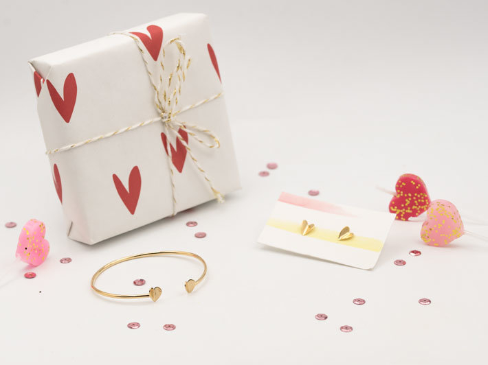 Fluttering happy heart jewelry collection for Valentine's Day 2019