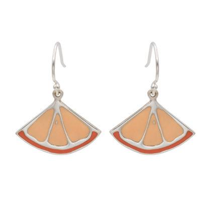 clementine dangling earrings in sterling silver 925